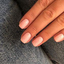 CosmoLac. Микс двух цветов: Лиловая вода и Алмазный иней. ⠀ #дизайнногтейминск #красивыеногти #ногтиминск #ногтибрест #ногтигомель #ногтигродно #ногтимогилев #ногтивитебск